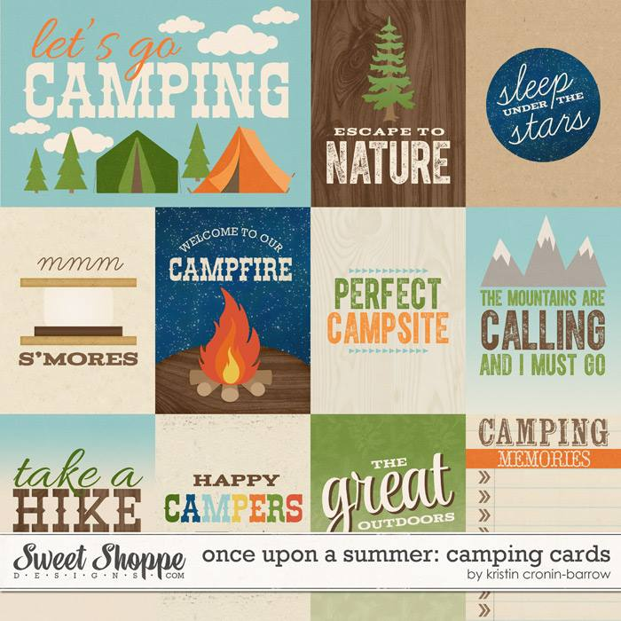 Once Upon a Summer: 2. Camping Cards by Kristin Cronin-Barrow