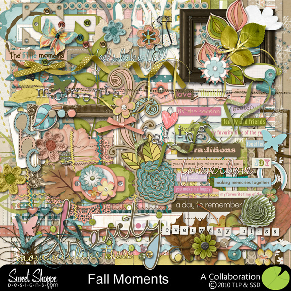 *Limited Edition* Fall Moments by Sweet Shoppe Designs & The Lilypad