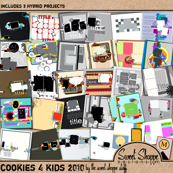 *Limited Edition* 2010 Cookies 4 Kids by Sweet Shoppe Designs
