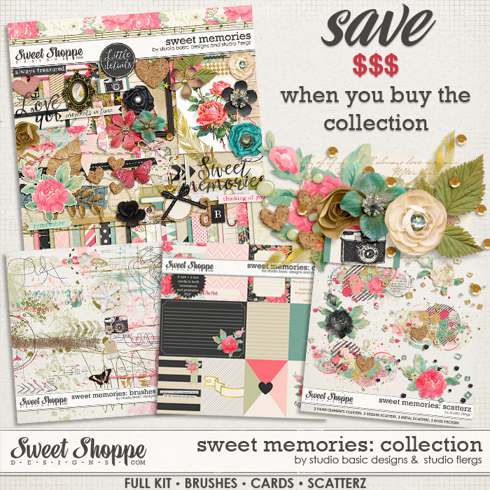 Sweet memories: COLLECTION by Studio Flergs & Studio Basic Designs