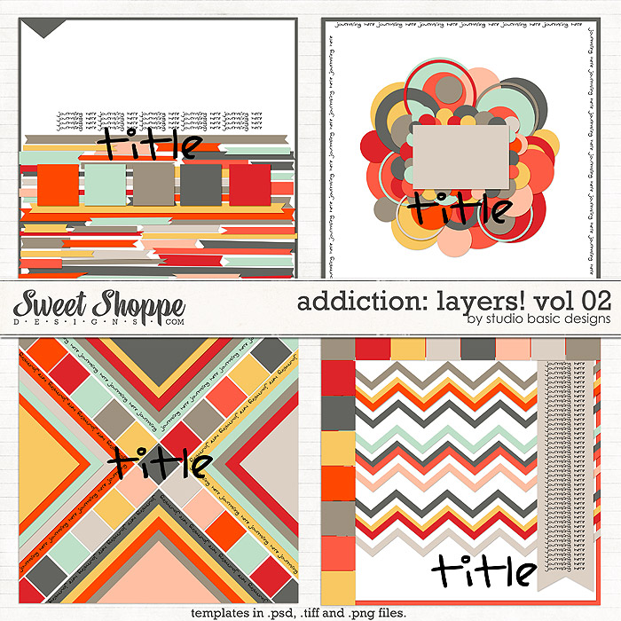 Addiction: Layers! vol 02 by Studio Basic