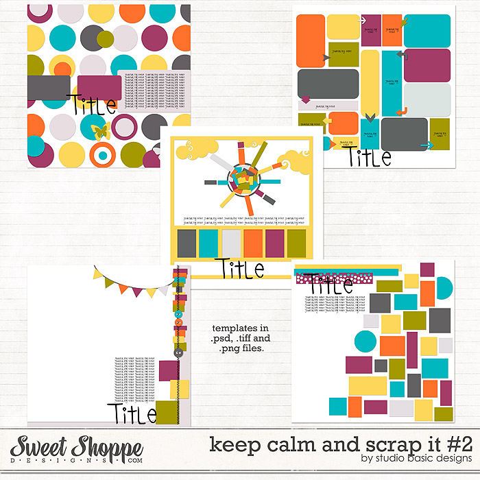 Keep Calm and Scrap It #2 by Studio Basic