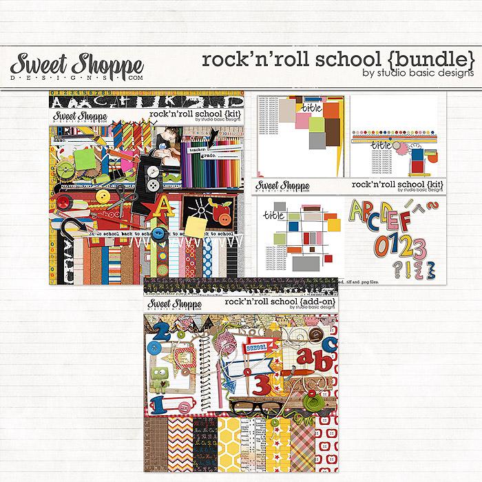 Rock'n'Roll School {bundle} by Studio Basic