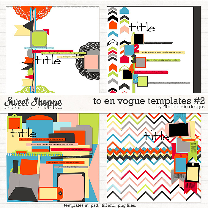 To En Vogue Templates #2 by Studio Basic