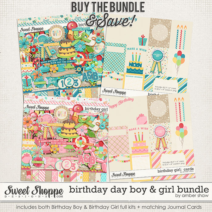 Birthday Boy & Girl Bundle