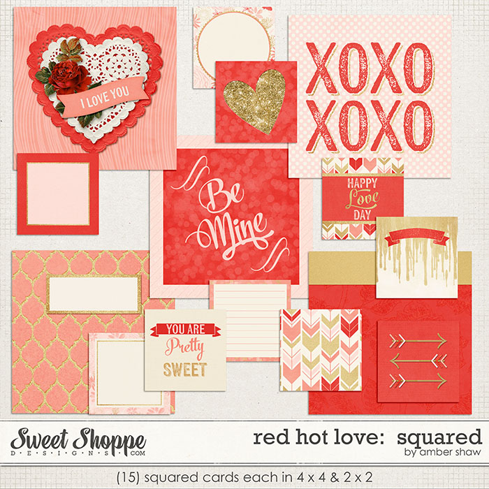 Red Hot Love Squared by Amber Shaw