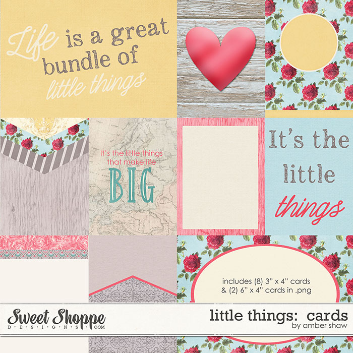 Little Things Cards by Amber Shaw