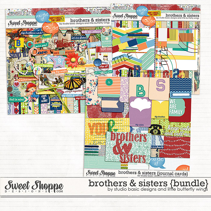 Brothers & Sisters {bundle} by Studio Basic and Little Butterfly Wings