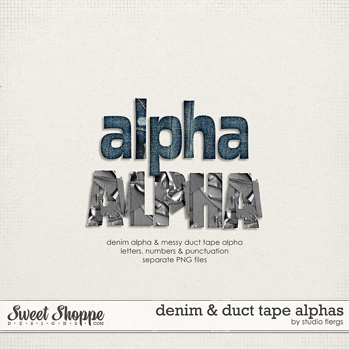 Denim Blues: ALPHAS By Studio Flergs