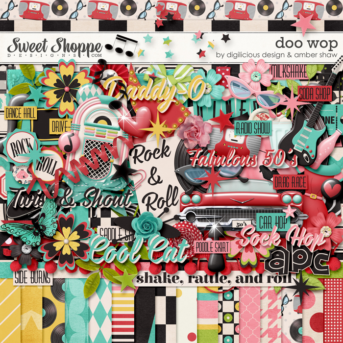 Doo-Wop by Amber Shaw & Digilicious Designs
