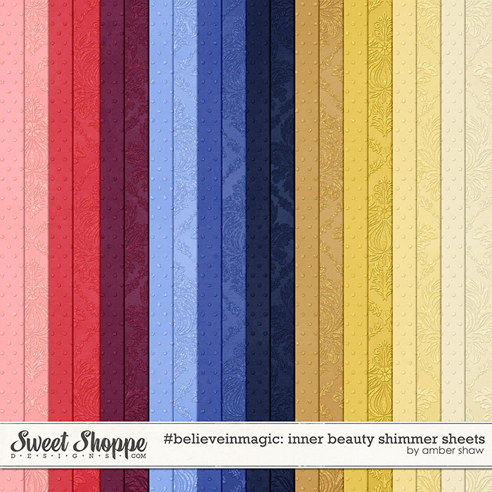 #believeinmagic: Inner Beauty Shimmer Sheets by Amber Shaw