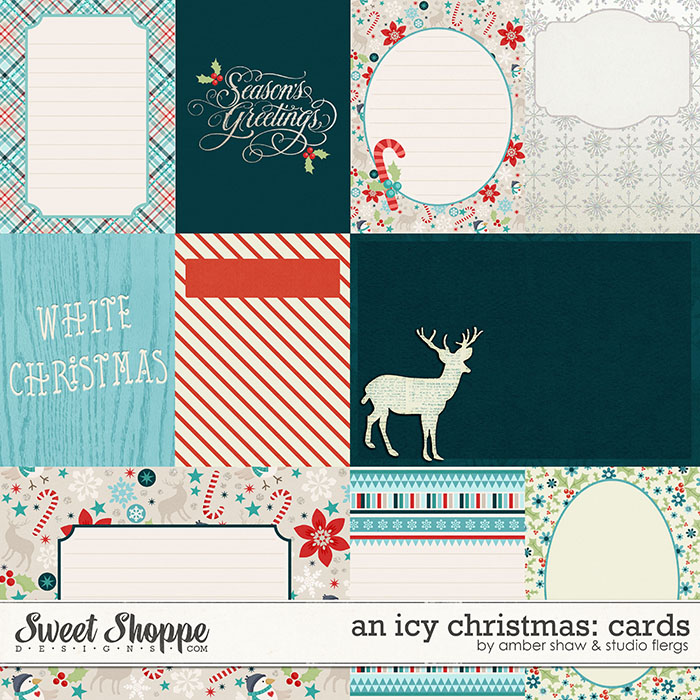 An Icy Christmas Cards by Amber Shaw & Studio Flergs