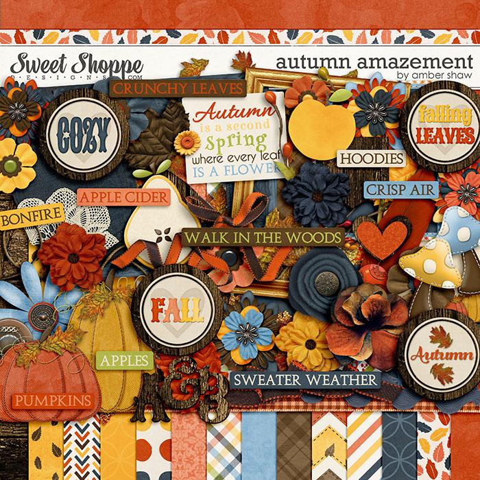 Autumn Amazement by Amber Shaw