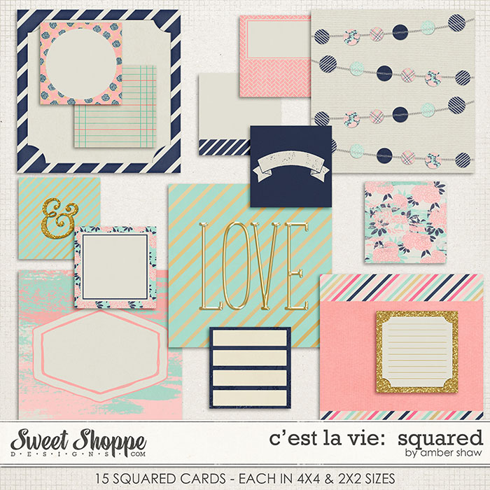 C'est La Vie: Squared by Amber Shaw