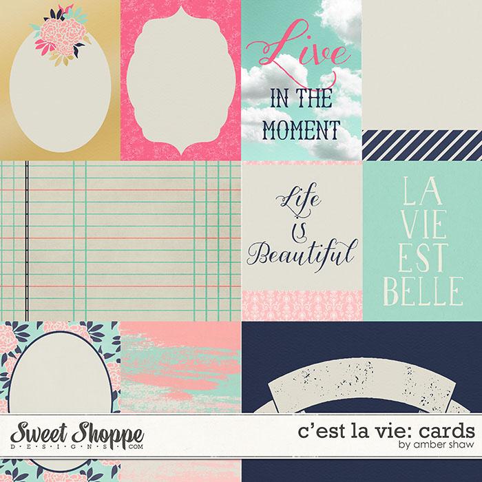C'est La Vie: Cards by Amber Shaw