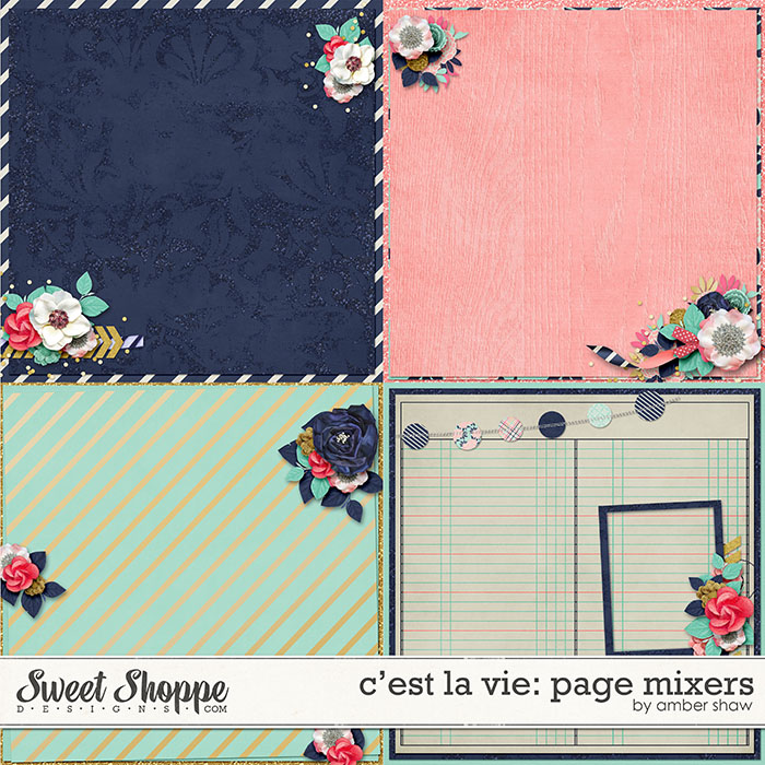 C'est La Vie: Page Mixers by Amber Shaw