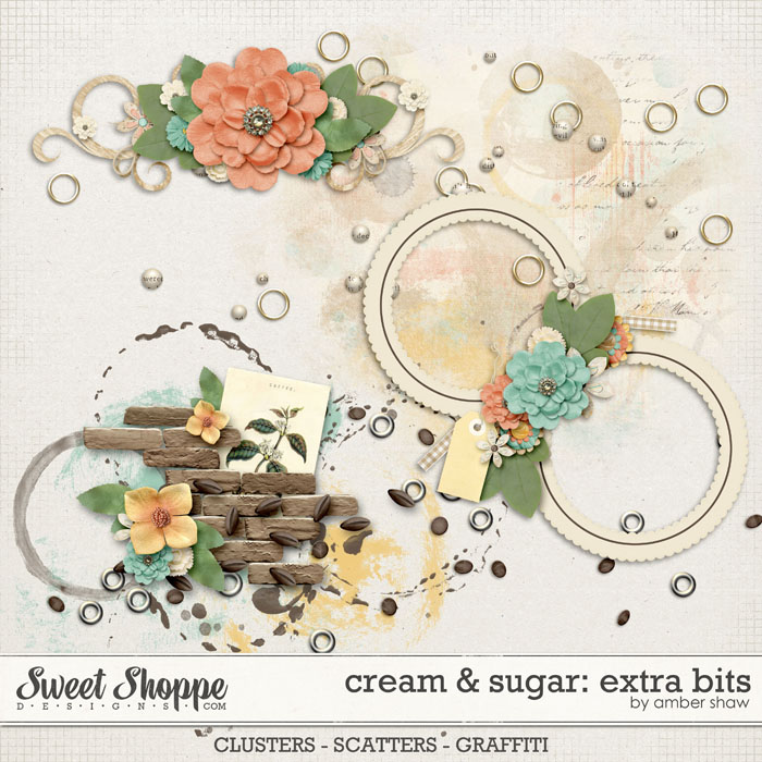 Cream & Sugar: Extra Bits by Amber Shaw