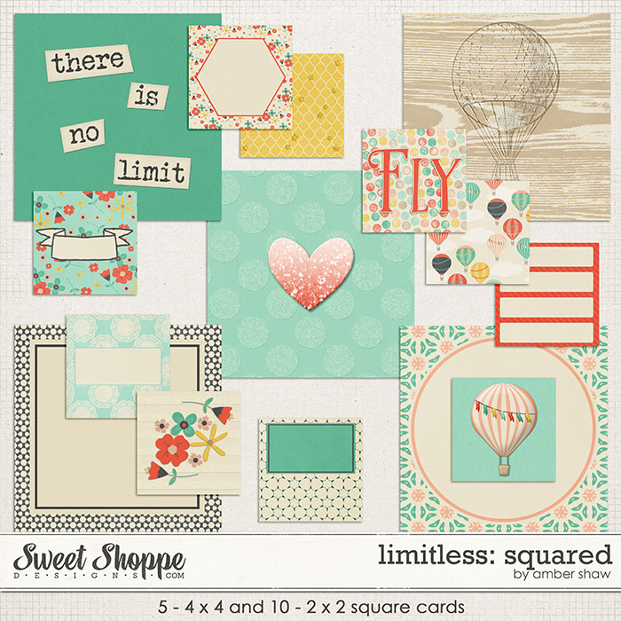 Limitless: Squared Cards by Amber Shaw