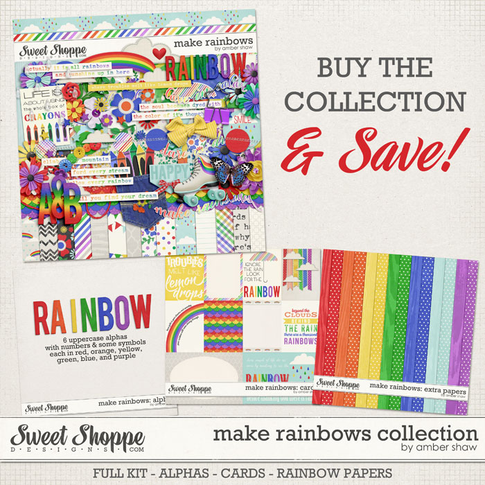 Make Rainbows: COLLECTION by Amber Shaw