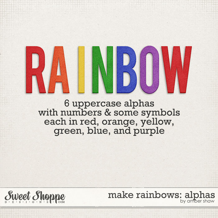 Make Rainbows Alphas by Amber Shaw