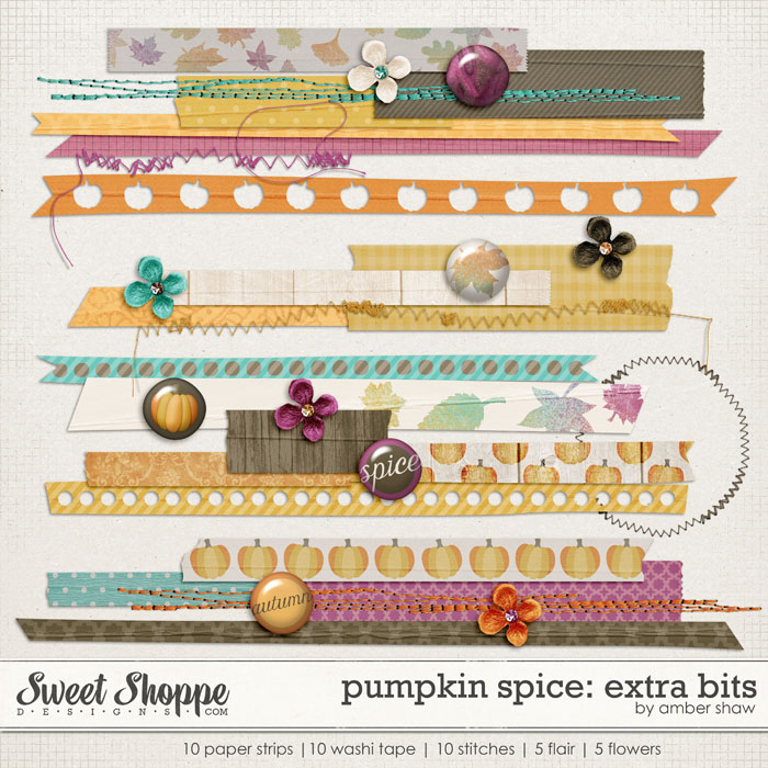 Pumpkin Spice: Extra Bits by Amber Shaw
