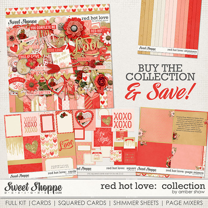 Red Hot Love Collection by Amber Shaw