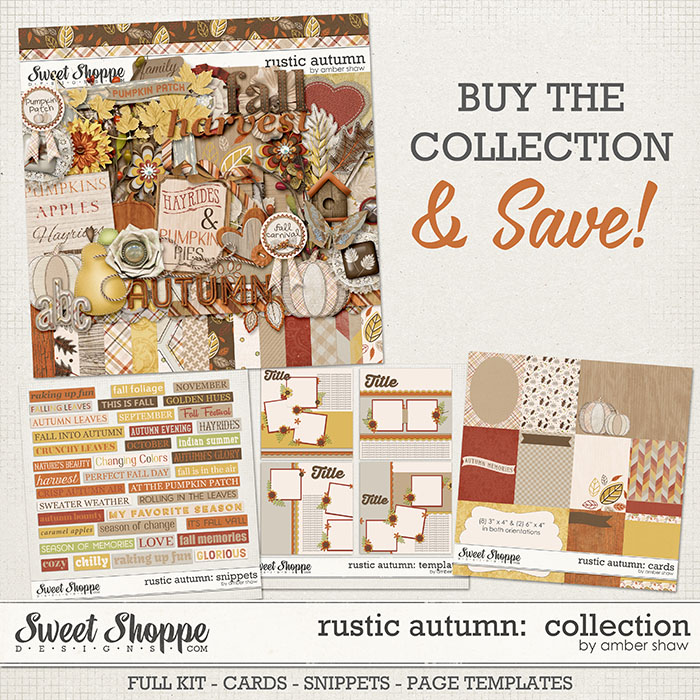 Rustic Autumn: COLLECTION by Amber Shaw