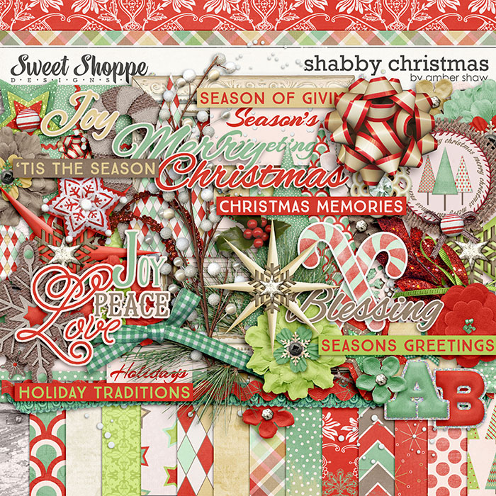 Shabby Christmas by Amber Shaw