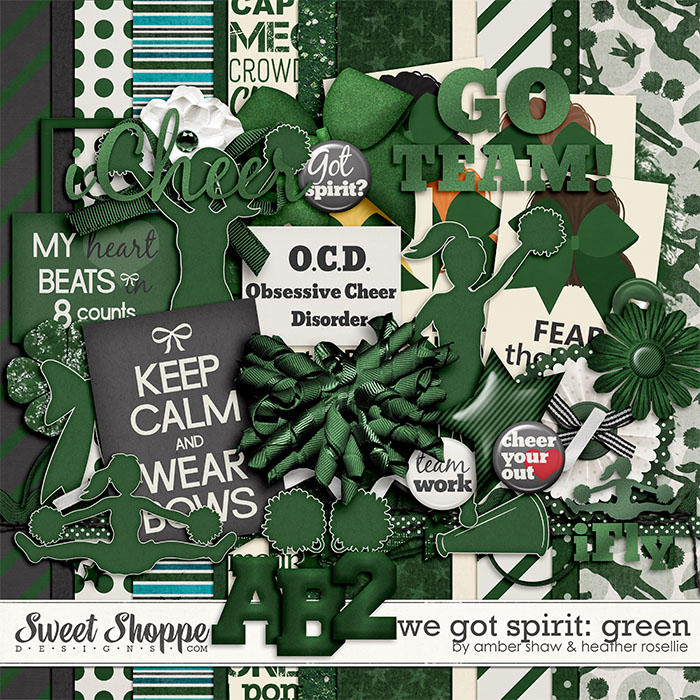 We Got Spirit: Green by Amber Shaw & Heather Roselli