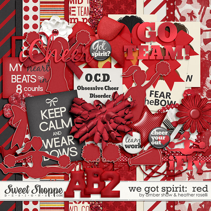 We Got Spirit: Red by Amber Shaw & Heather Roselli