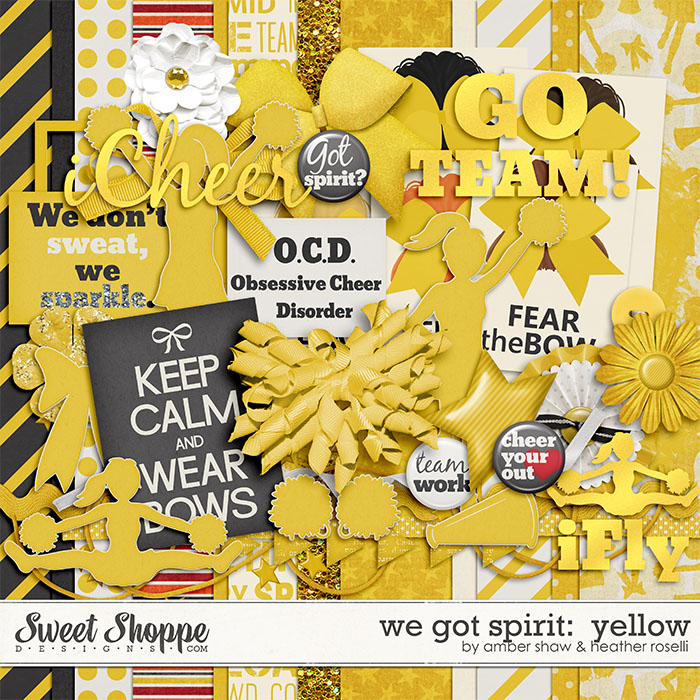We Got Spirit: Yellow by Amber Shaw & Heather Roselli