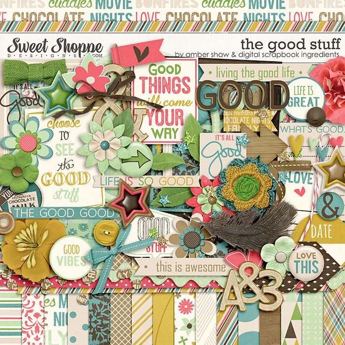 The Good Stuff by Amber Shaw & Digital Scrapbook Ingredients