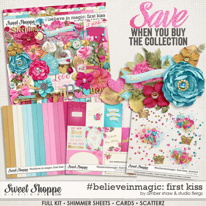 #believeinmagic:  First Kiss Collection by Amber Shaw & Studio Flergs