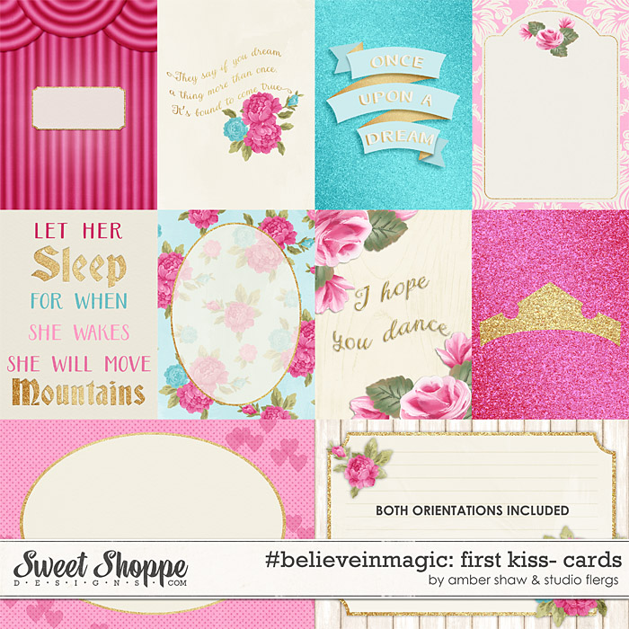 #believeinmagic: First Kiss Cards by Amber Shaw & Studio Flergs