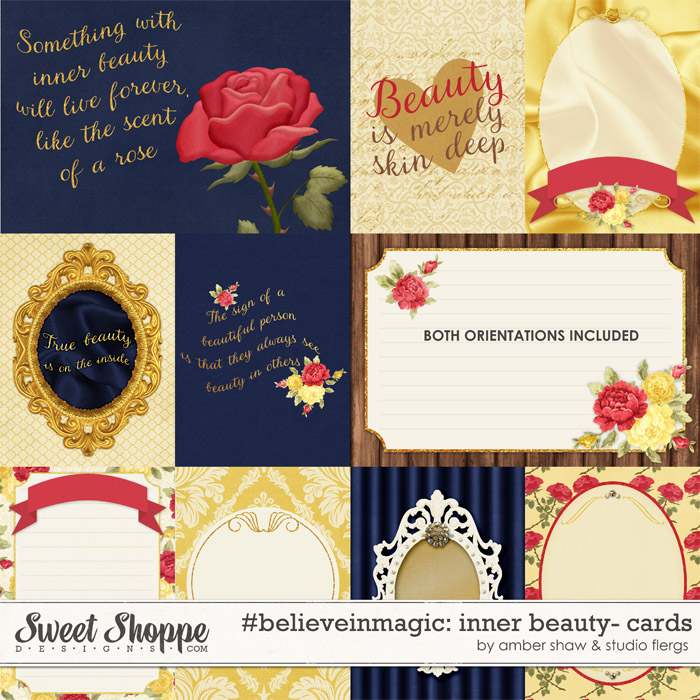 #believeinmagic: Inner Beauty Cards by Amber Shaw & Studio Flergs