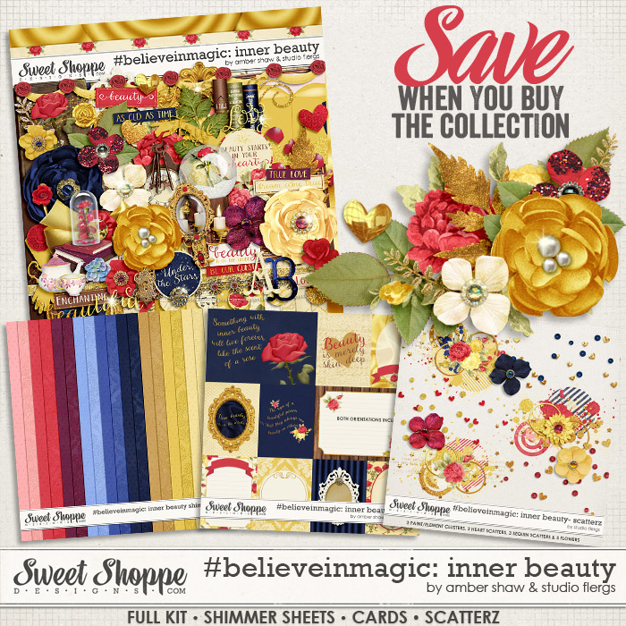 #believeinmagic: Inner Beauty Collection by Amber Shaw & Studio Flergs