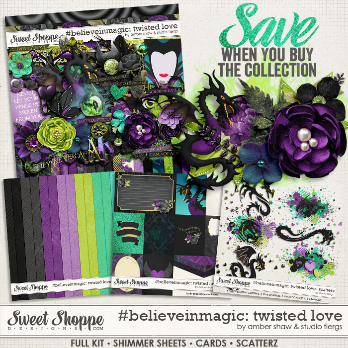 #believeinmagic:  Twisted Love Collection by Amber Shaw & Studio Flergs