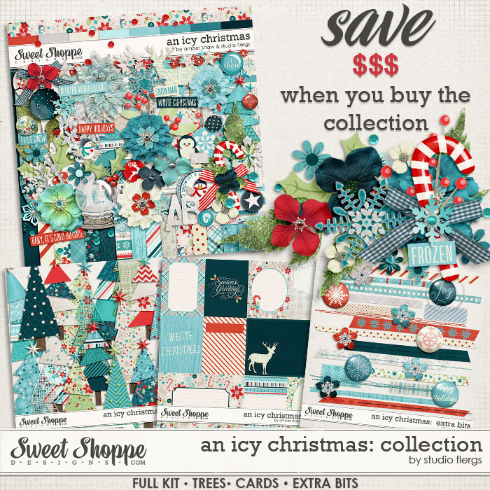 An Icy Christmas Collection by Amber Shaw & Studio Flergs