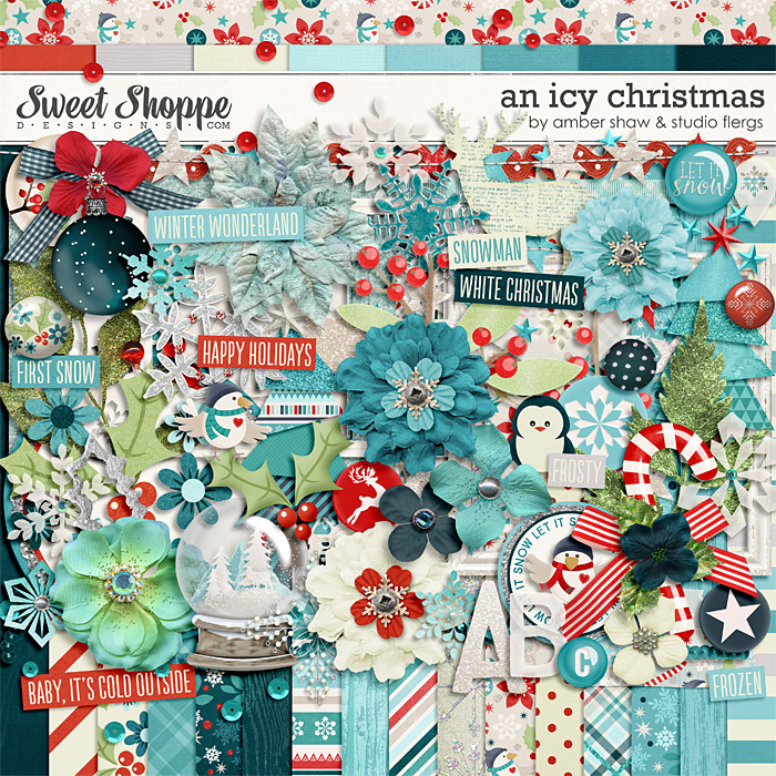 An Icy Christmas by Amber Shaw & Studio Flergs