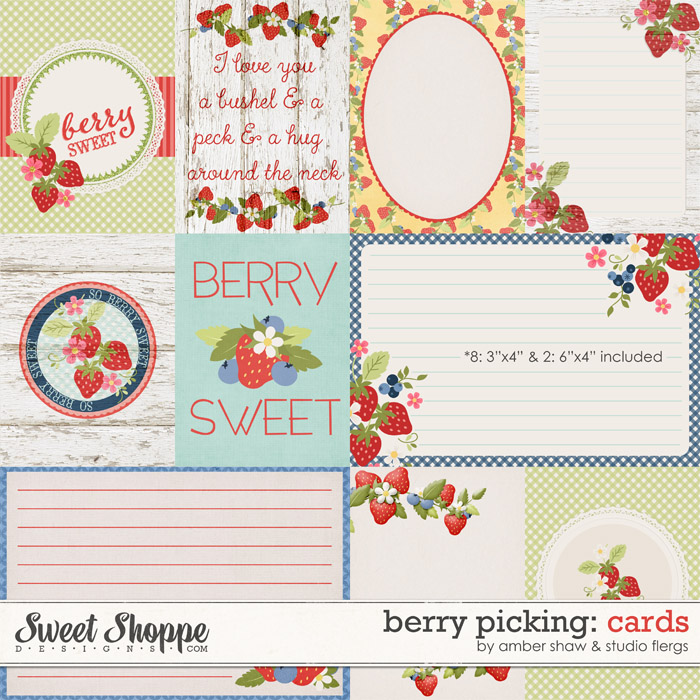 Berry Picking: CARDS by Studio Flergs & Amber Shaw