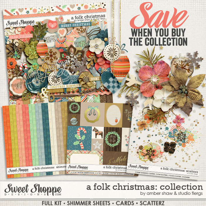 A Folk Christmas: COLLECTION By Studio Flergs & Amber Shaw