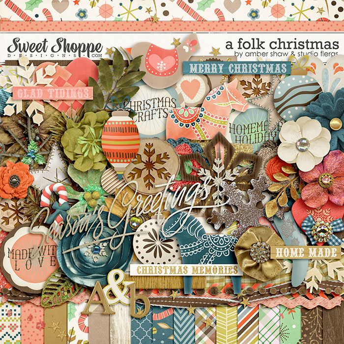 A Folk Christmas By Studio Flergs & Amber Shaw