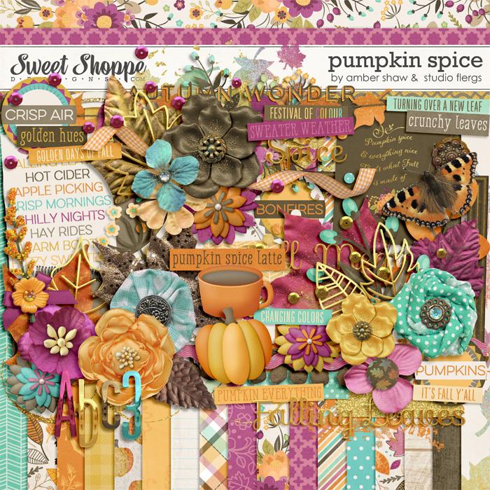 Pumpkin Spice by Amber Shaw & Studio Flergs