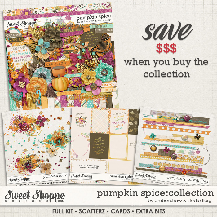 Pumpkin Spice: COLLECTION by Amber Shaw & Studio Flergs