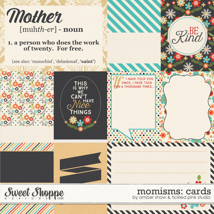 Momisms Cards by Amber Shaw & Tickled Pink Studio