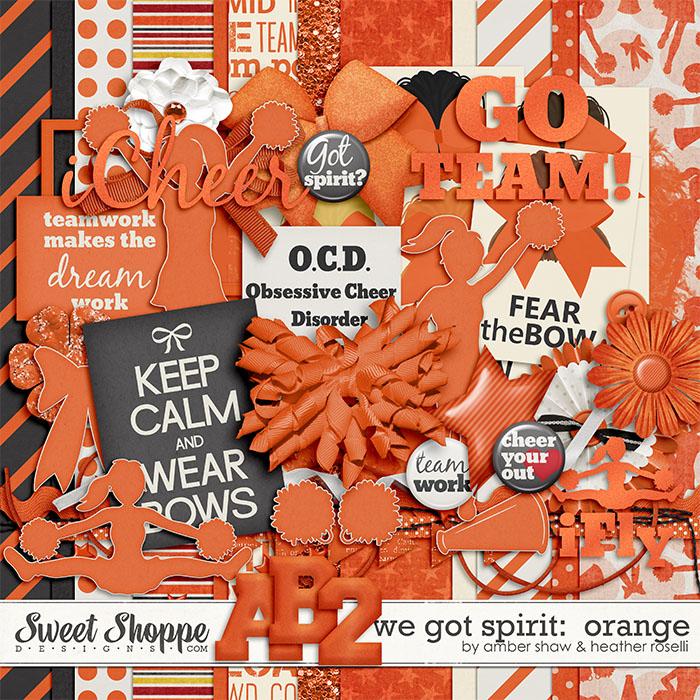 We Got Spirit: Orange by Amber Shaw & Heather Roselli