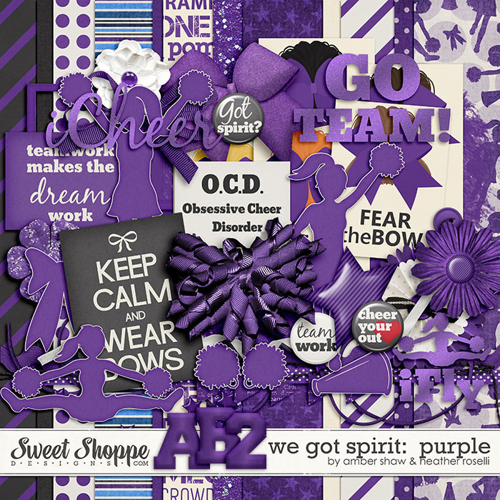 We Got Spirit: Purple by Amber Shaw & Heather Roselli
