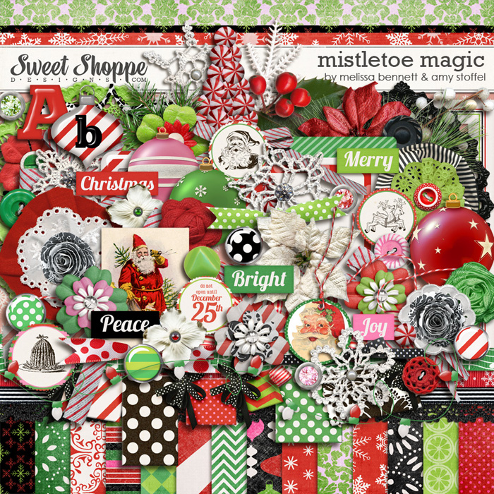 Mistletoe Magic by Melissa Bennet & Amy Stoffel