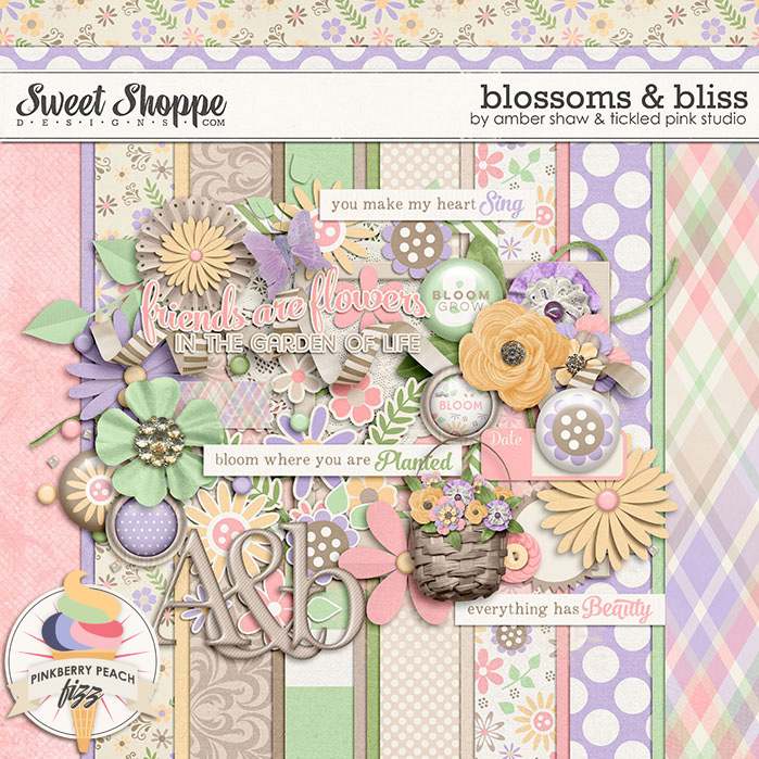 Blossoms & Bliss by Amber Shaw & Tickled Pink Studio