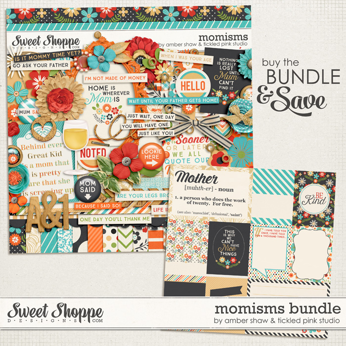 Momisms Bundle by Amber Shaw & Tickled Pink Studio